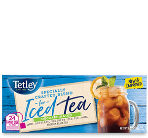 Iced Tea Blend - Decaffeinated (Square Tea Bags w/ String) - Get More Information