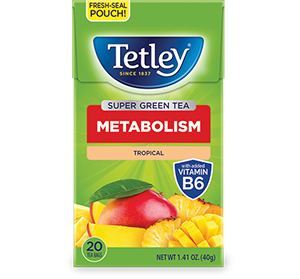 Green Tea Tropical with Vitamin B6 - Get More Information